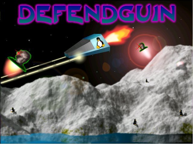 Defendguin screenshot 1