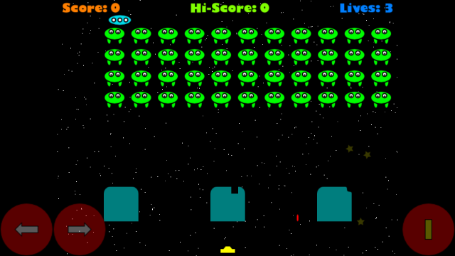 Invaders screenshot 1