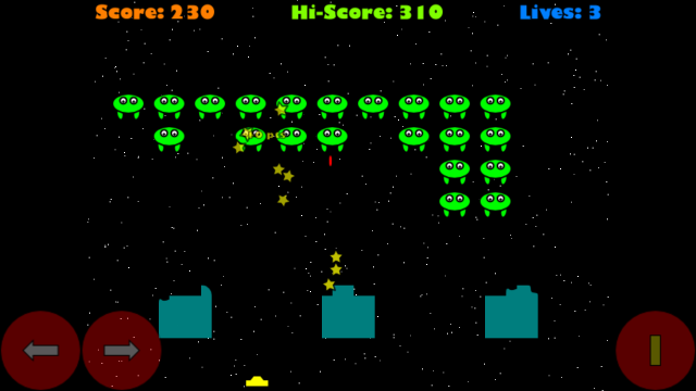 Invaders screenshot 2