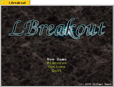 LBreakout screenshot 1