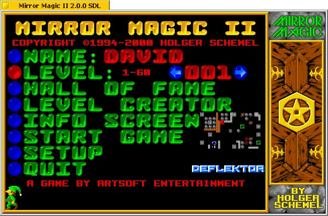 Mirror Magic II screenshot 1