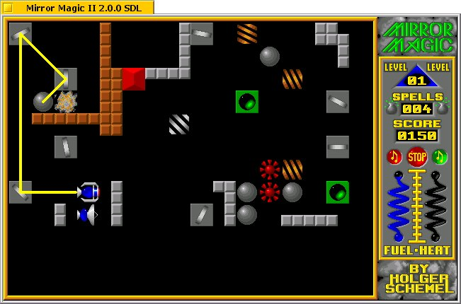 Mirror Magic II screenshot 2