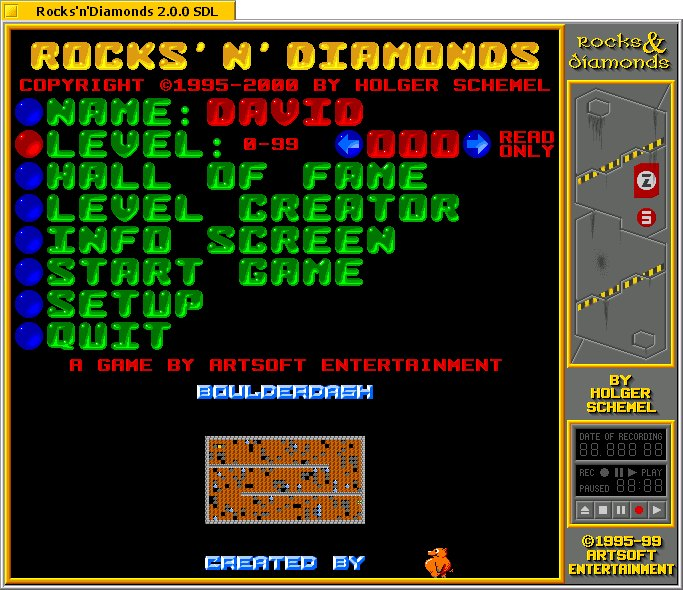 Rocks 'N' Diamonds screenshot 1